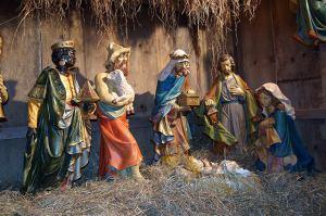 Weihnachtskrippe jesus