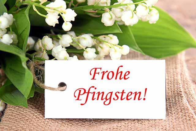 Frohe Pfingsten Deutschland