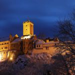 Wartburg im Winter