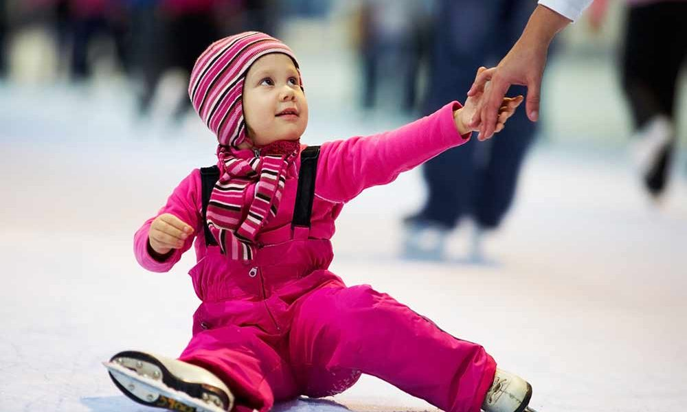 Eisbahnen und Eislaufen