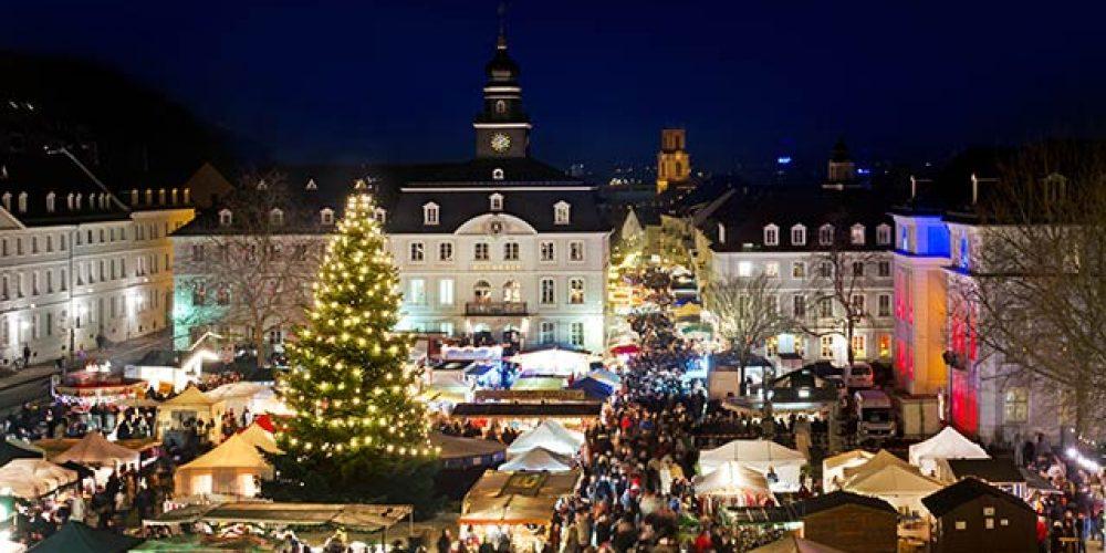 Weihnachtsflair in Saarbrücken