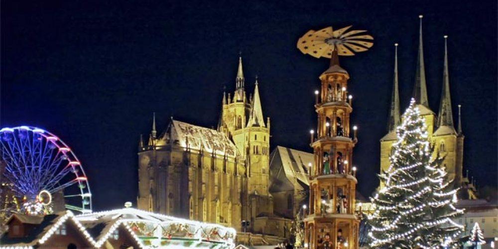 Weihnachtsmarkt in Erfurt 2016