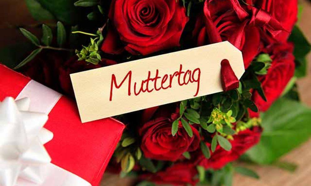Ein Strauß Rosen zum Muttertag